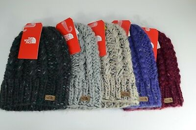 fbefd5157957f TNF The North Face W Chunky Knit Beanie Women s Hat Choose Color OS NWT  35  •