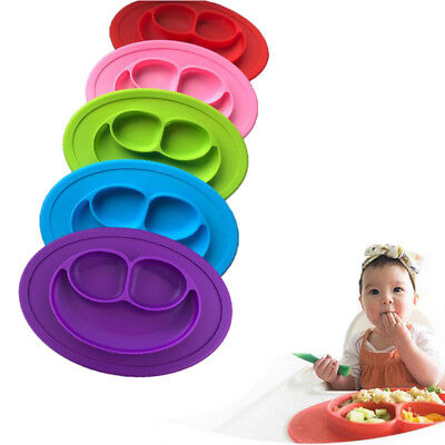 £6.99 • Buy Baby Snack Mat Silicone Non Slip Placemat Suction Table Plate Tray,Feeding Spoon