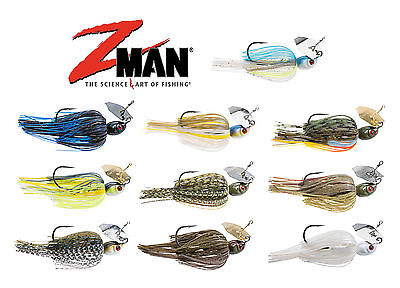 Z-Man Project Z Chatterbait Bladed Chatterbait Lure 1 Oz. Bass Lure ZMan Baits • 6.43£