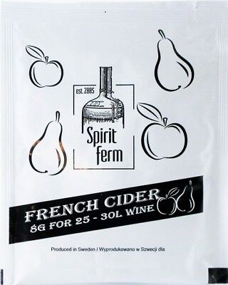 £2.29 • Buy SpiritFerm Home Brew French Cider Yeast Mead High Alcohol FREE FAST