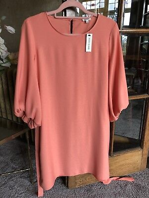 River Island Coral/ Orange Dress New With Tags, Size 12 • 14.99£