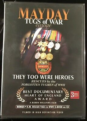 Mayday Tugs Of War (DVD, 2009, 3-Disc Set) • 9.99£