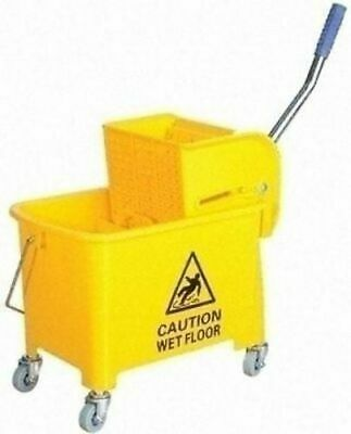 £23.99 • Buy Kentucky Mop Bucket And Wringer 20 L Yellow Cleaning Mopping Commercial Shop