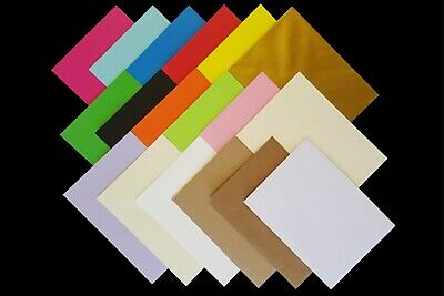 £1.99 • Buy 7x5 (133mmx184mm) Coloured Envelopes For Crafts Greeting Cards Party Invitations