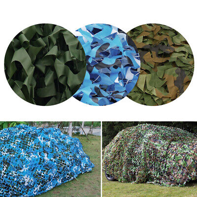 8 Sizes Camouflage Net Camo Netting For Camping Shooting Hunting Hide 3 Colours • 15.99£