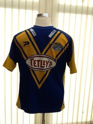 Leeds Rhinos Rugby Leauge Home Shirt • 19.09£