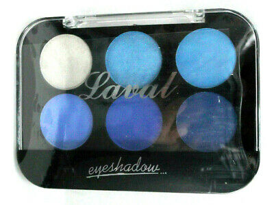 AU6.14 • Buy LAVAL EYESHADOW 6 Shade Palette BLUES