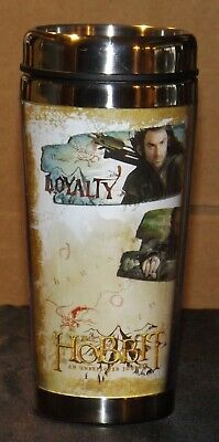 £20.03 • Buy The Hobbit Loyalty Honour And Heart An Unexpected Journey Travel Mug 16 Oz. NEW
