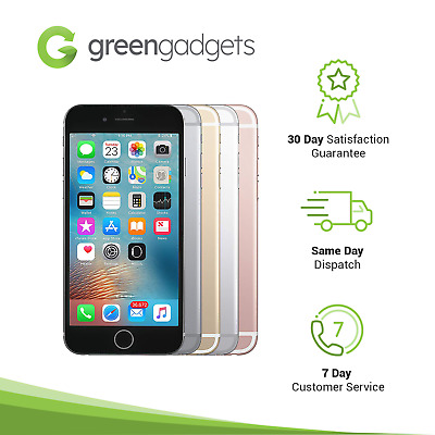 AU189 • Buy Apple IPhone 6S 16/32/64/128 GB Grey Rose Gold Silver Unlocked Smartphone
