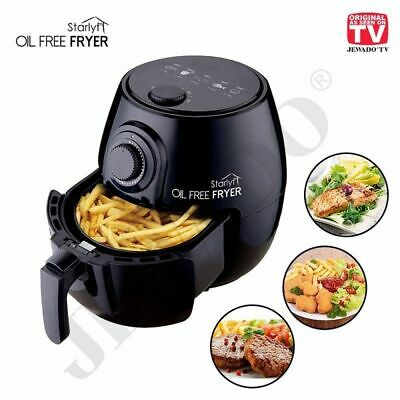 View Details Starlyf 3.8L Oil Free Air Fryer 1400W Black Timer Non Stick Air Cycle RRP £79.99 • 39.99£