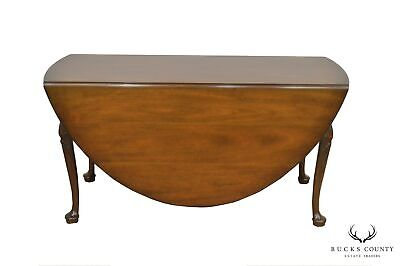 $1995 • Buy Kittinger Colonial Williamsburg CW117 Mahogany Large Drop Leaf Dining Table