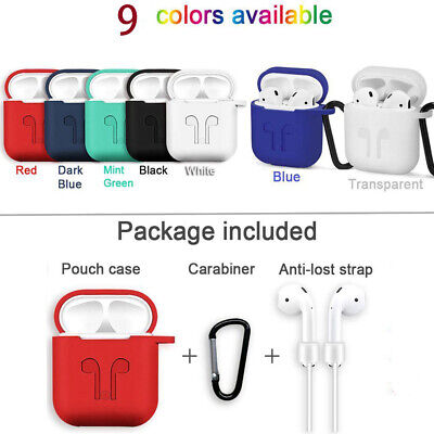 $ CDN3.87 • Buy AirPods Silicone Case Cover Shockproof Protect Skin For Apple Airpod Charging