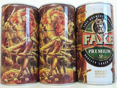 $ CDN22.40 • Buy Faxe Limited  Vikings Best Friend/Seductress   Part 4, Empty Can Beer,0.9L
