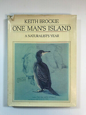 £12.50 • Buy Keith Brockie - One Man's Island - A Naturalist's Year - 1984, 1st Pub, HB