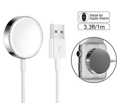$ CDN8.76 • Buy For Apple Watch Magnetic Charging Cable Charger 38/40/42/44mm Series 1/2/3/4/5