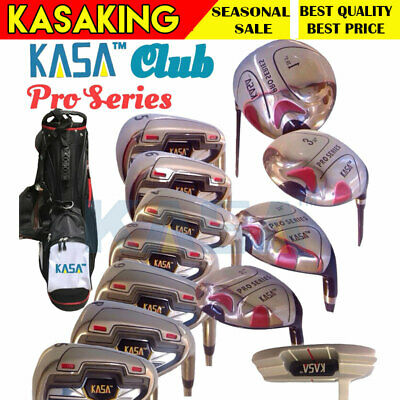 AU343.59 • Buy Men's Rh Graphite Golf Set With Bag Putter Premium Value Set Club USA 12pc