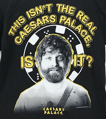 Hangover III This Isnt The Real Caesars Palace Is It Short Sleeve Mens T-Shirt • 17.26£