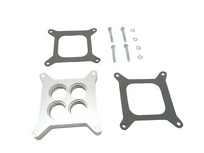 AU168.01 • Buy OBX Throttle Body Spacer For Holley 4150/4160 Series Edelbrock Sq. Flange 4BBL