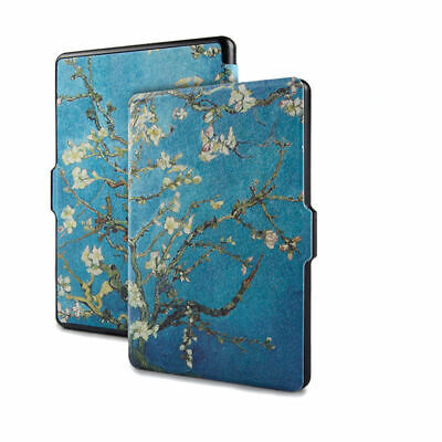 AU14.99 • Buy Van Gogh Printed Art  Kindle Paperwhite PU Leather Cover Case-Apricot Flower