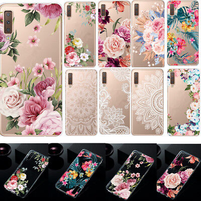 $ CDN3.76 • Buy For Samsung Galaxy A7 A9 2018 S9 S8 S10 S20 Soft Silicone Painted TPU Case Cover
