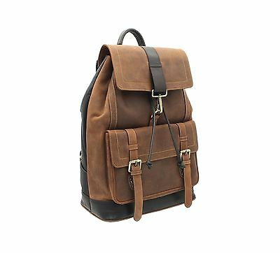 £189.99 • Buy Visconti Hunter Collection RHINO XL Leather Backpack 16161