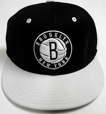 NBA Brooklyn Nets Auténtico Adidas Plana Flexible Gorra TALLA L XL • 26.14€ e52639c420e