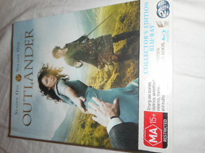 AU32.76 • Buy Outlander Season1 Volume 1 Bluray Collectors Edition Dvd Set