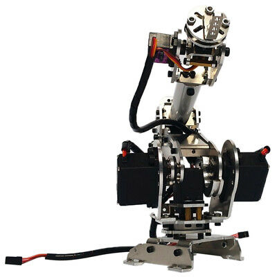 Alloy 6-Dof Robot Mechanical Arm W/6 Servos For   Learn Physical Kits • 145.47£