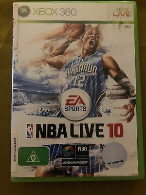 AU10.95 • Buy NBA Live 10 - Microsoft Xbox 360 Game USED - FREE POSTAGE!!