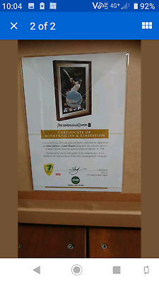 AU455 • Buy Limited Edition Adam Gilchrist Memorabilia