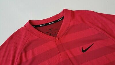 d263a727 New Nike Zonal Cooling Momentum Golf Blade Polo Shirt, 933318-691, L~