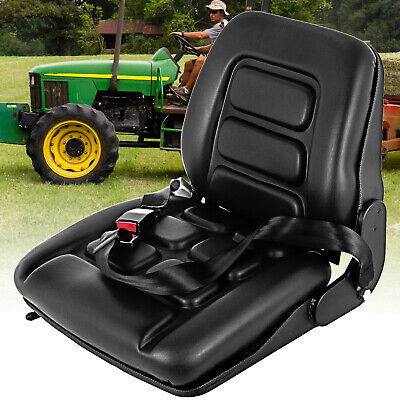 AU142.98 • Buy Suspension Tractor For Seat Forklift Excavator Truck Universal Backrest Chair