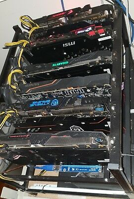 AU6000 • Buy Killer Cryptocurrency Mining Rig - 6x GTX 1080s All Fully Setup & Ready To Mine!