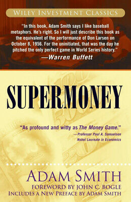 AU32.50 • Buy Supermoney (Wiley Investment Classics) By Adam Smith