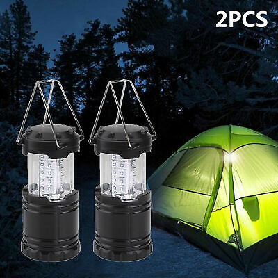 £9.99 • Buy 2 X Axndes LED Collapsible Camping Tent Light Portable Fishing Lantern Lamp