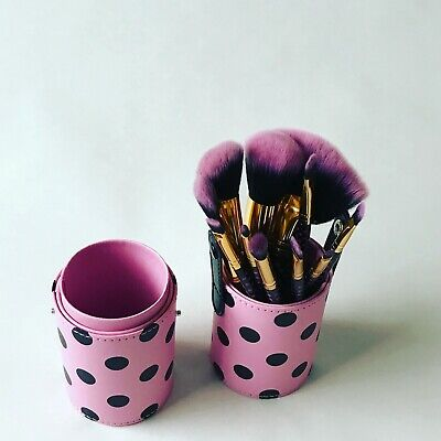 AU24.99 • Buy Make Up Brush Set 11 Pieces With Holder