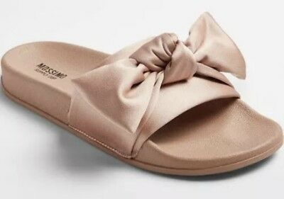 665014ea95ed Women s Julisa Slide Sandals With A Bow Mossimo Supply Co. Blush Size 8 •  14.95