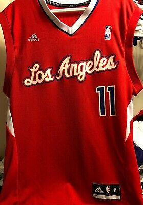 0ce01eaea72 Jamal Crawford Red Basketball Los Angeles Clippers Jersey Authentic • 30.00