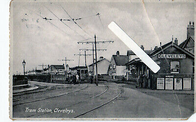 £3 • Buy REDUCED !!! Victoria Square Tram Depot 1927 Cleveleys Blackpool