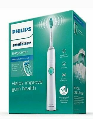 View Details Philips Sonicare EasyClean Electric Toothbrush HX6511/50,Brand New-Sealed Box. • 42.99£