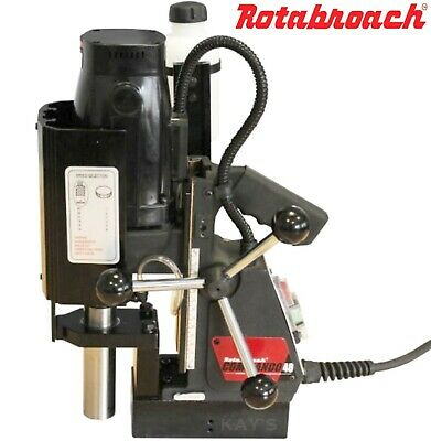 ROTABROACH COMMANDO 40 MAGNETIC DRILL - VARIABLE SPEED MAG DRILL - 110v Or 240v • 425.50£