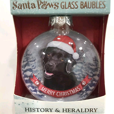 Black Labrador Dog Christmas Tree Bauble In Gift Box Fast Dispatch Uk Seller • 8.75£