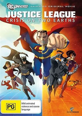 AU15.95 • Buy Justice League - Crisis On Two Earths DVD : NEW