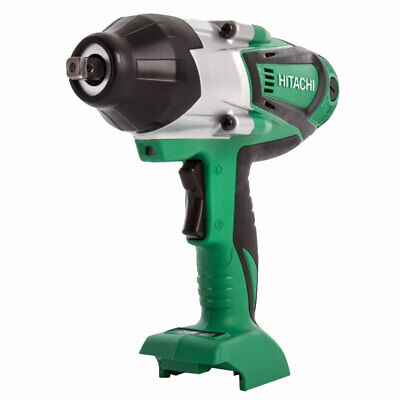 Hitachi & HiKOKI WR18DSHL/W4 18V Li-ion 1/2  Impact Wrench Body Only • 190£
