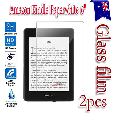 AU12.99 • Buy 2X Amazon Kindle PaperWhite 10th Gen 2018 Tempered Glass Screen Protector Guard