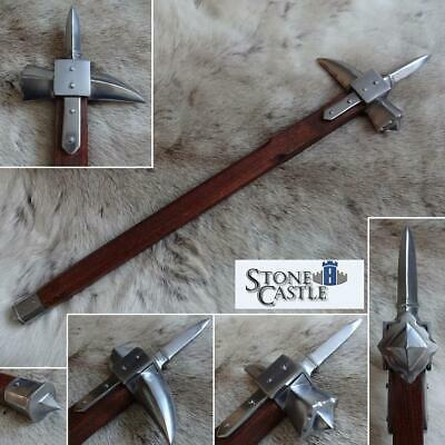 £62 • Buy Spiked Medieval Warhammer Solid Metal Head For Stage Or Re-enactment. War Hammer