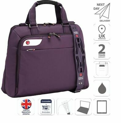 Ladies 15.6  Laptop & IPad Bag Business Bag Briefcase Purple Is0126 • 41.99£