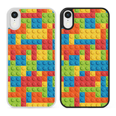 LEGO Building Bricks Pattern Phone Case Cover IPhone Samsung Blocks Toys Gift • 6.39£