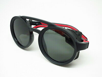 d7ec3d637d9 New Authentic Carrera 5046 S 807QT Black Red W Green Sunglasses • 79.05