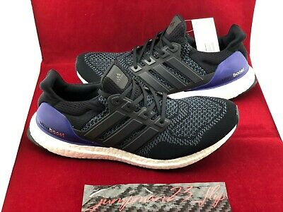 04e3bd2ff9601 Brand New Adidas Ultra Boost 1.0 OG 2018 Core Black Purple Mens Size 11 DS